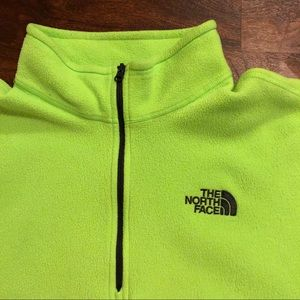 The North Face Sweaters - Bright neon North Face